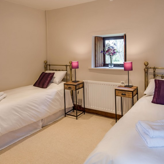 Twin room holiday cottage