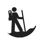 walking holiday logo