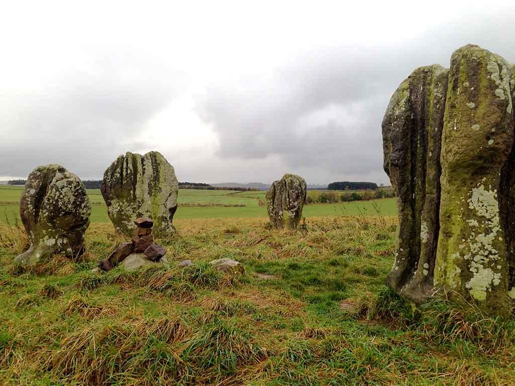 Duddo Stone Circle, Northumberland