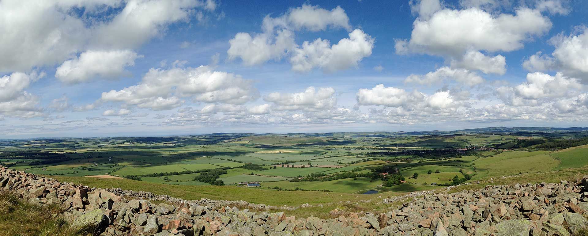 View from Humbleton Hill