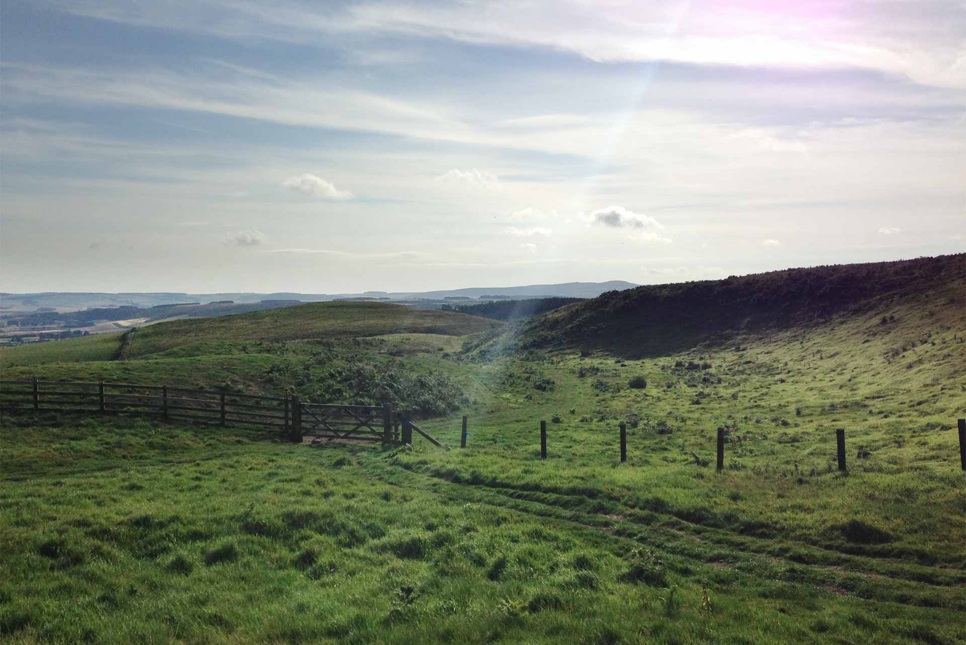 Way to Wooler round Browns Law