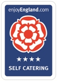 4 star Self-catering VisitEngland award