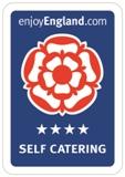 4 star Self-catering VisitEngland award