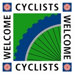 Cyclists Welcome VisitEngland Logo