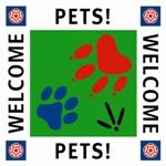 Pets Welcome VisitEngland logo