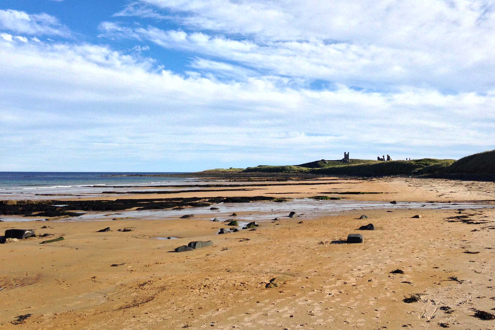 Dunstanburgh Castle Embleton Bay