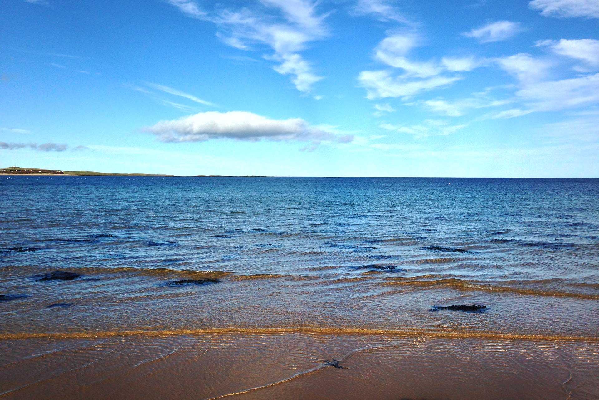 Sea at Embleton Bay