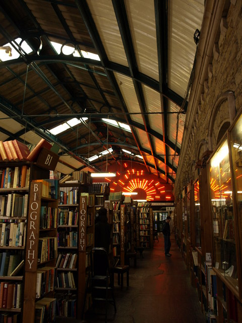 Inside Barter Books